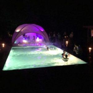 poolparty feesttent Interesse? neem contact met ons op
